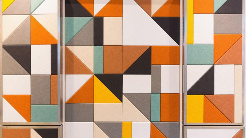 Pannelli fonoassorbenti di design cl coperture - Pannelli decorativi fonoassorbenti ...