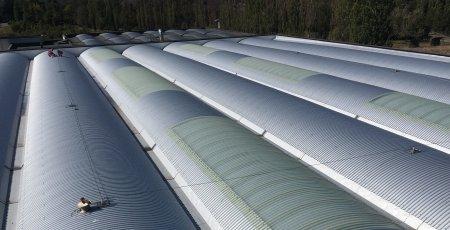 copertura capannone industriale milano