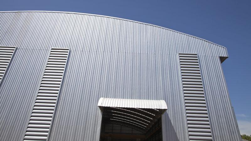 coperture industriali alluminio